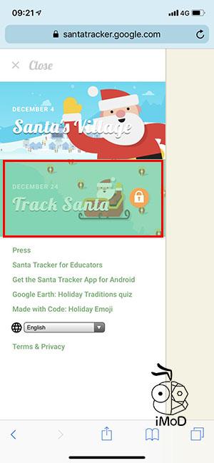 Google Maps Santa Cluas Is Coming Tracking 6