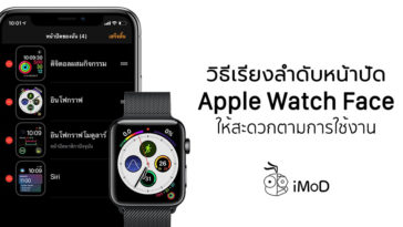 How To Reorder Apple Watch Face