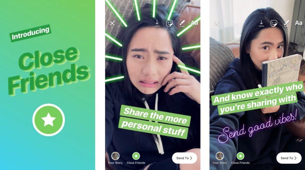 Instagram Close Friend Share Story 1