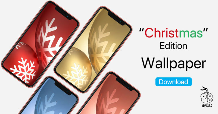 Iphone Wallpaper Christmas Edition By Appleidesigner