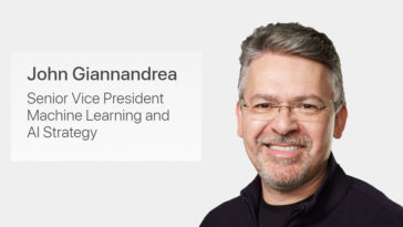 John Giannandrea Named To Apples Executive Team