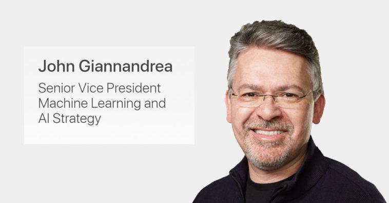 John Giannandrea Named To Apples Executive Team