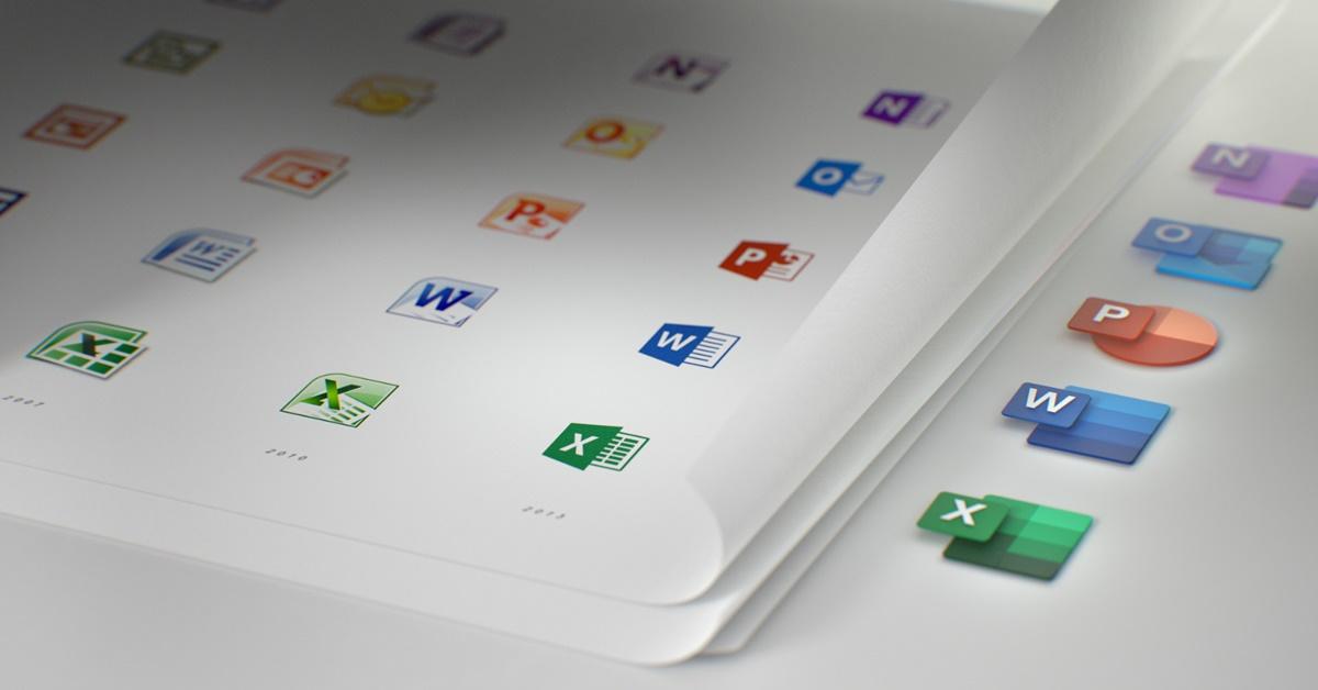 Microsoft เปลี่ยนไอคอนใหม่ของ Office หลังไม่ได้เปลี่ยนมา 5 ปี