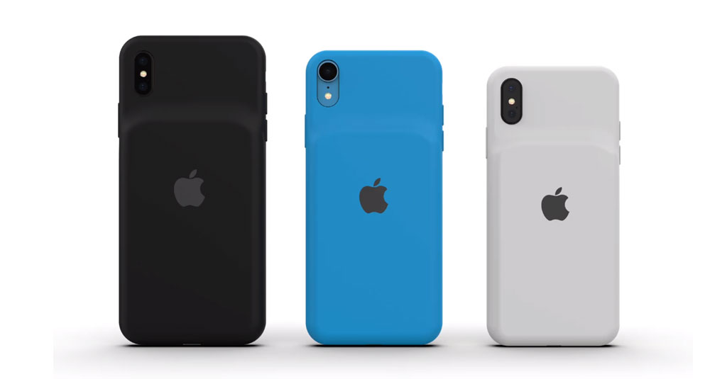 Smart Battery Case Iphone Xs Iphone Xr Render