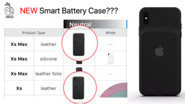 Smart Battery Case Iphone Xs Xs Max Leak From Internal Doc
