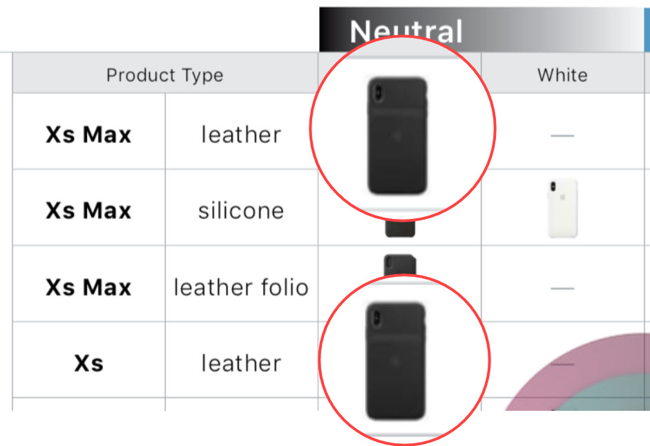 Smart Battery Case Iphone Xs Xs Max Leak From Internal Doc Img 1