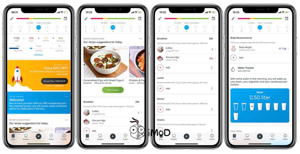 Yazio Calories Count App On Apple Watch 1