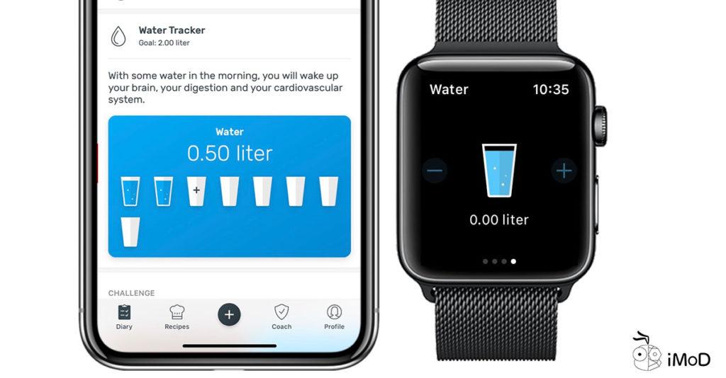 Yazio Calories Count App On Apple Watch 5