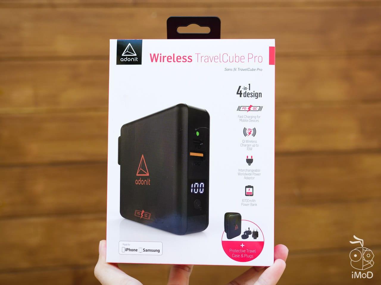 Adonit Wireless Travelcube Pro 1222163