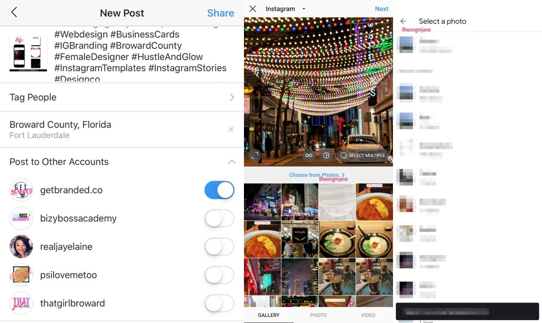 Instagram Post To Multiple Accounts Horz