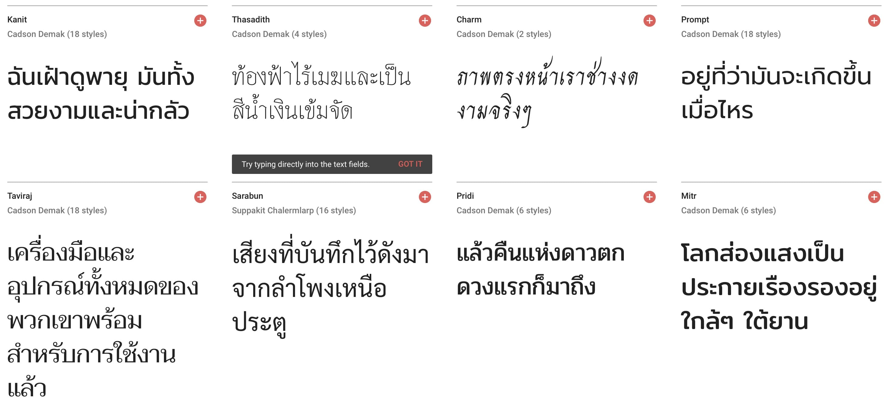 Thai Font Google Font For Ios 02