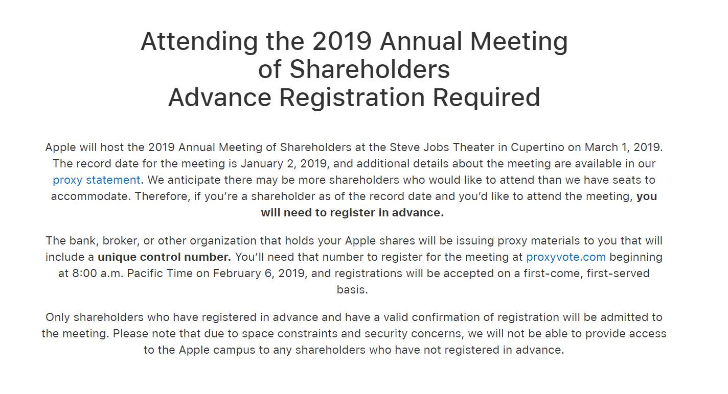 Apple 2019 Annual Shareholders Steve Jobs Theater Img 2