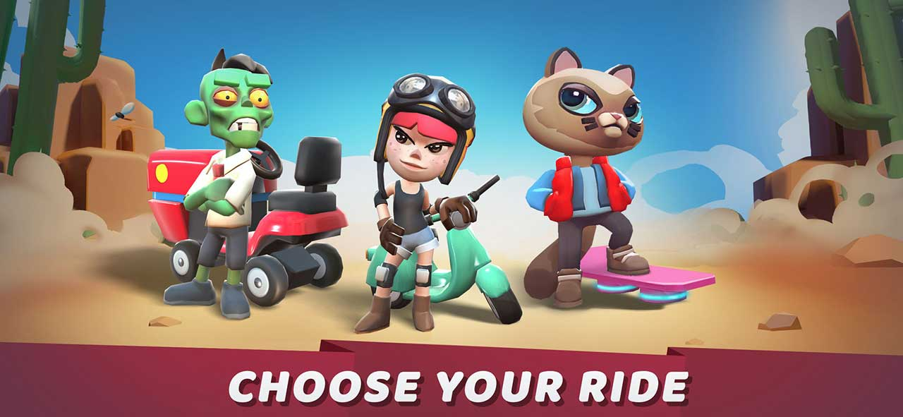 Game Boom Riders Content2