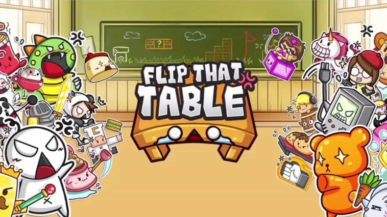 Game Flip That Table Cover