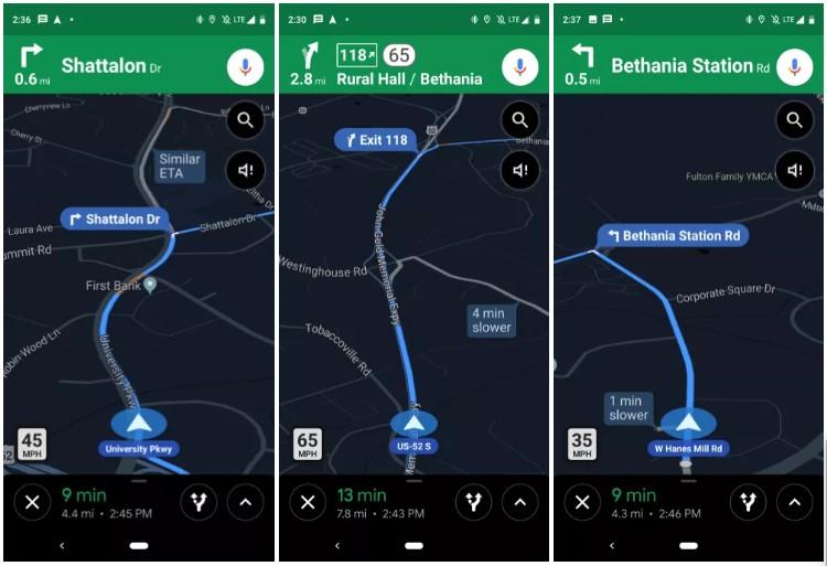 Google Maps Rolling Speed Limit Speed Camera 1