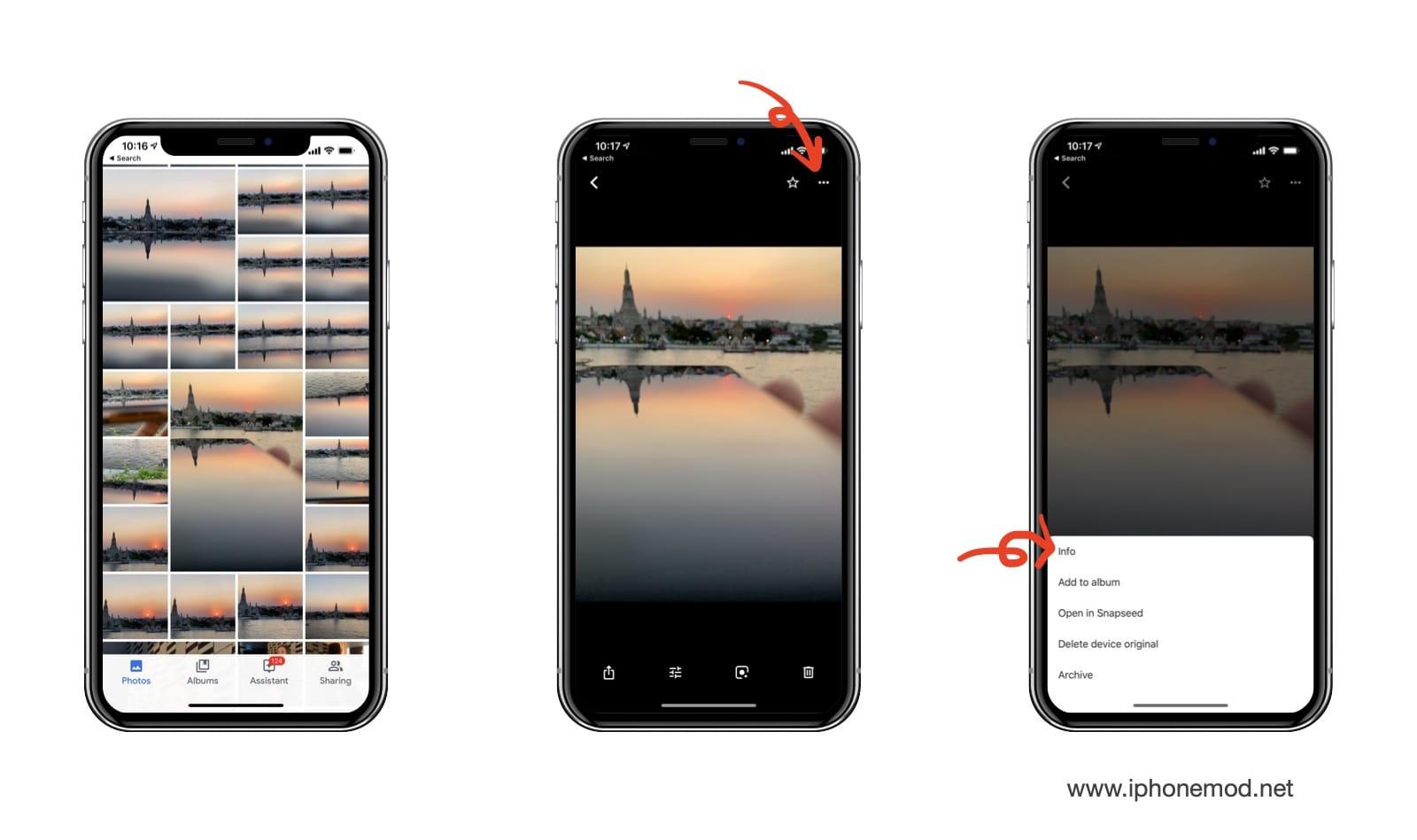 Google Photos Iphone X Check Info