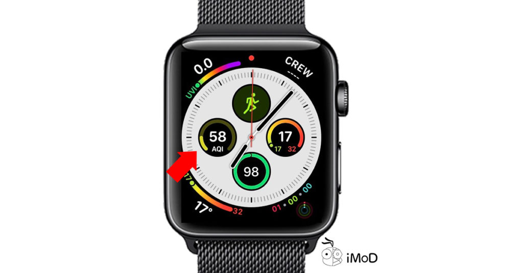 How To Set Apple Watch Face Aqi By Air Matters 4
