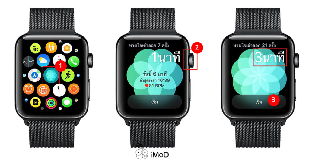 How To Set Breath Minute Apple Watch 1