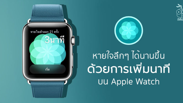 How To Set Breath Minute Apple Watch