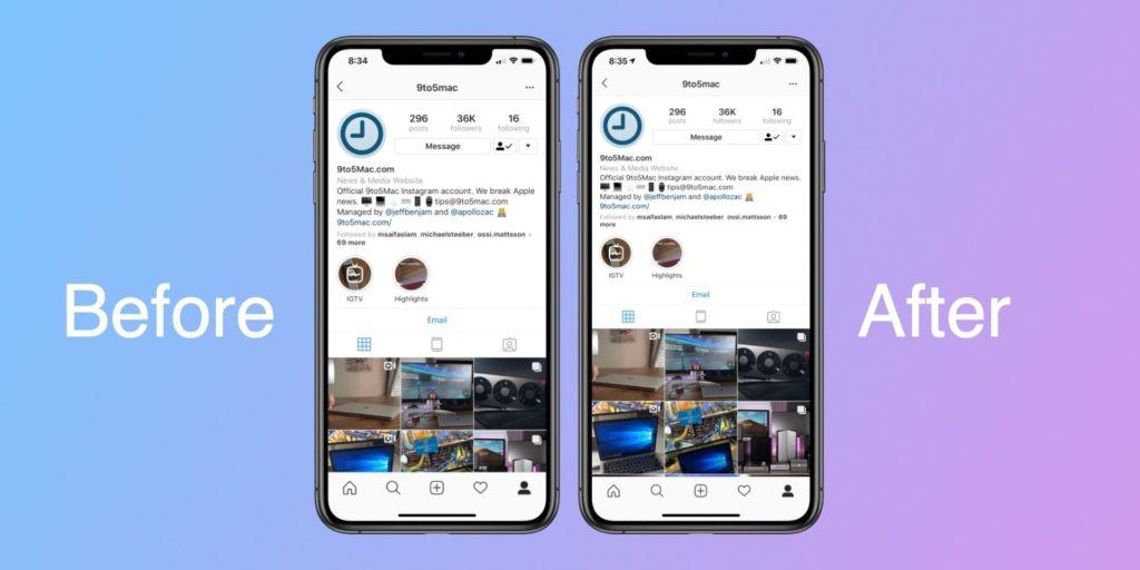 Instagram Update Fix Iphone Xr Xs Max Display 1