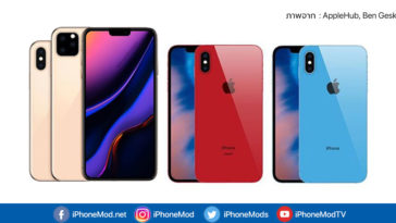 Iphone 11 11 Max 11r Render Concept