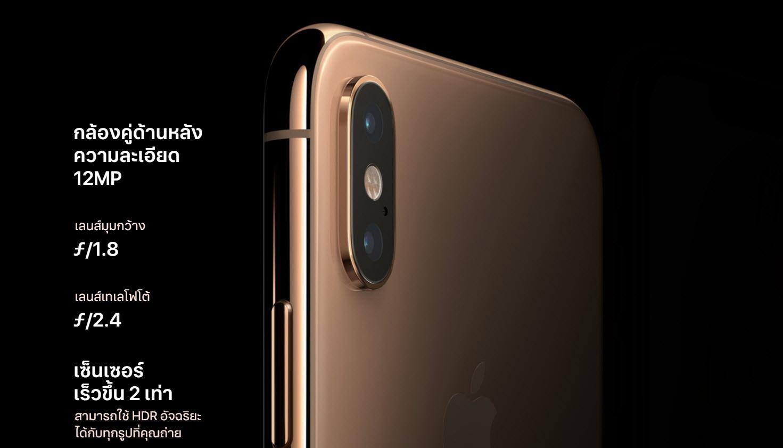 Iphone Xs Camera Spec