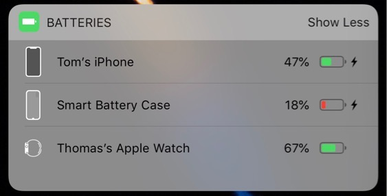 Iphone Xs Smart Battery Case Icon Found At Ios 12 1 2 Img 1