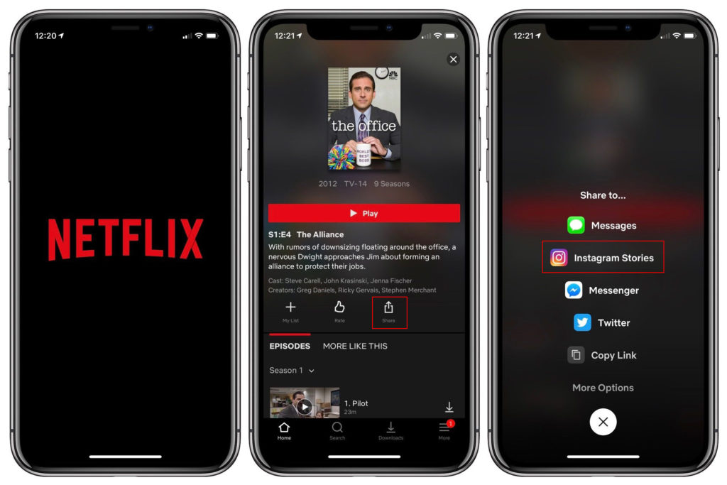 Netflix Update Share Ig Stories 2