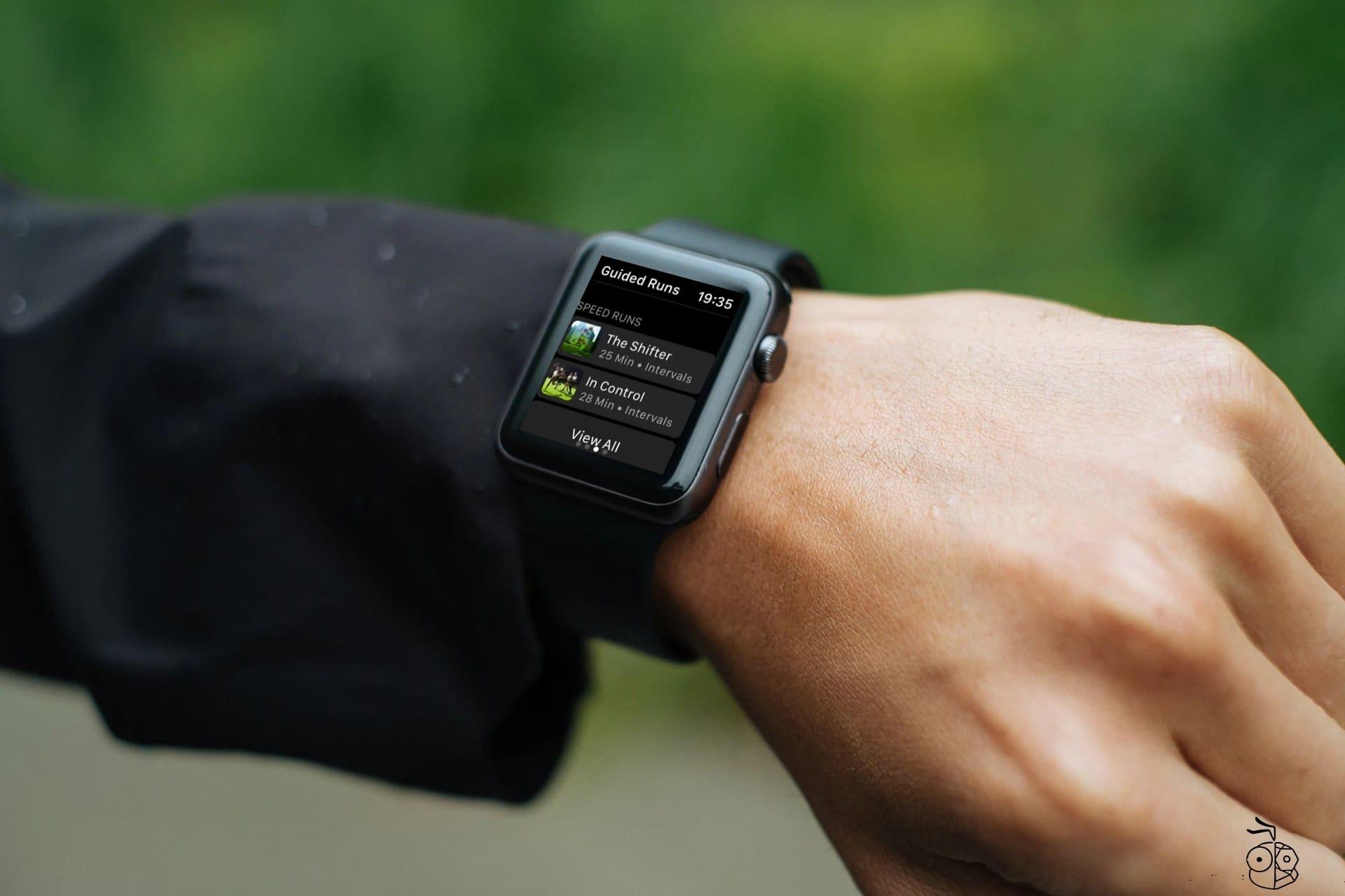 Nike Run Club Guided Run Apple Watch