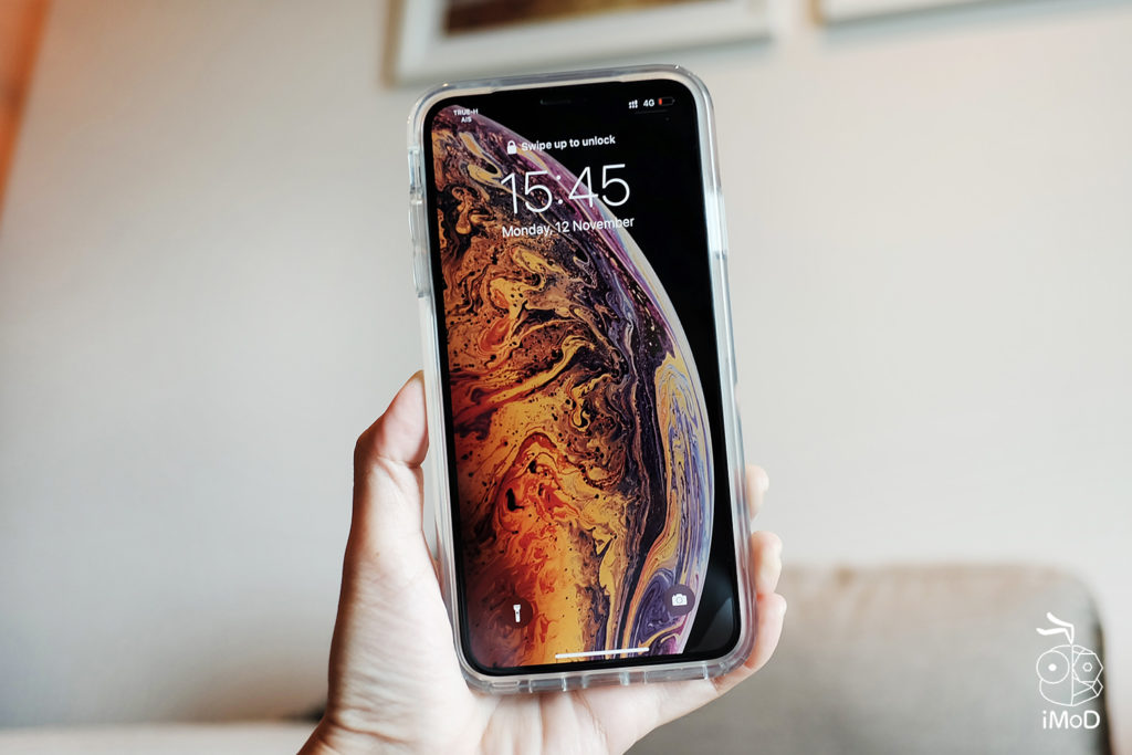 Otter Box Symmetry Clear Iphone Xs Max 4
