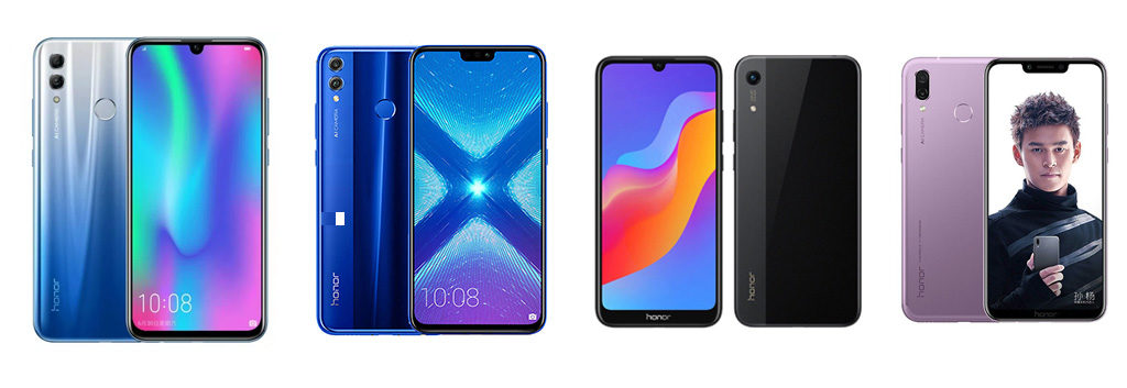 Thailand Mobile Expo 2019 Smartphone List Honor