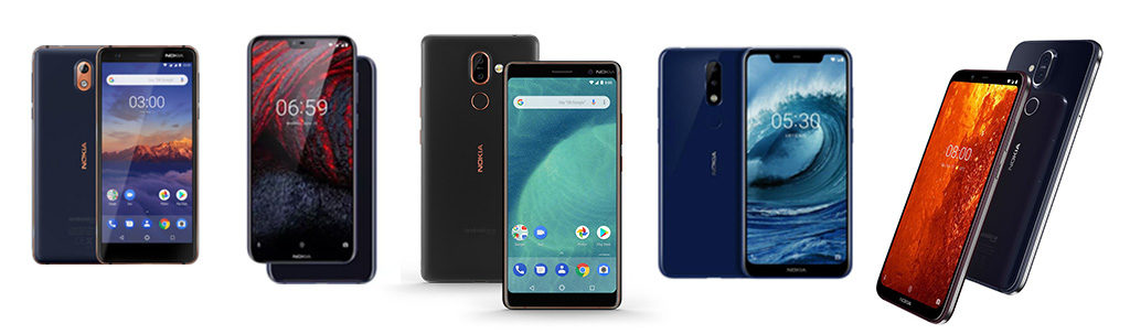Thailand Mobile Expo 2019 Smartphone List Nokia