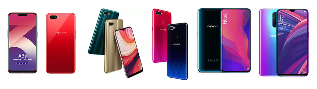 Thailand Mobile Expo 2019 Smartphone List Oppo