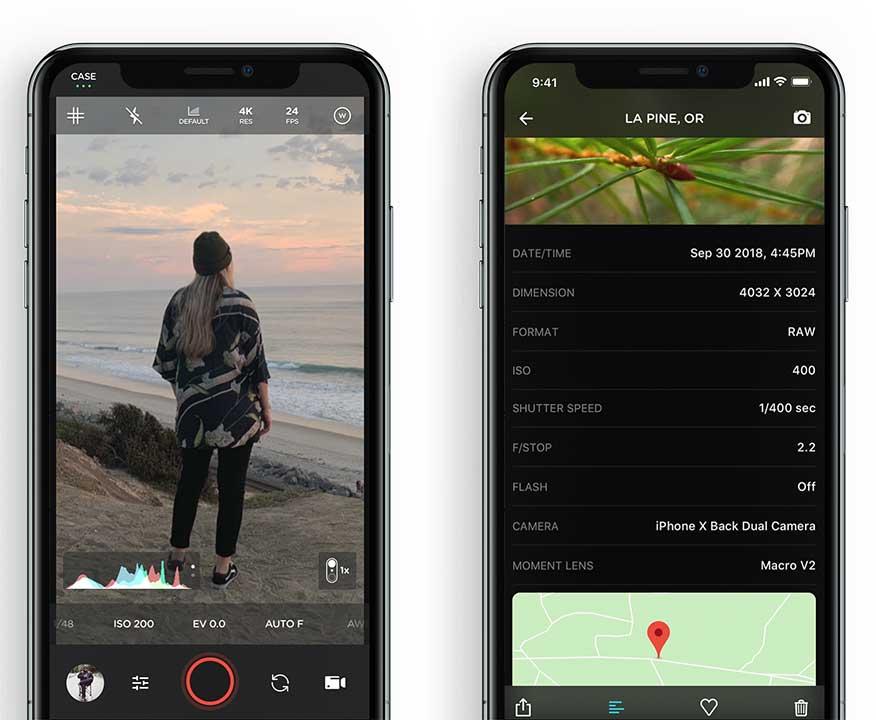 App Moment Pro Camera Content2