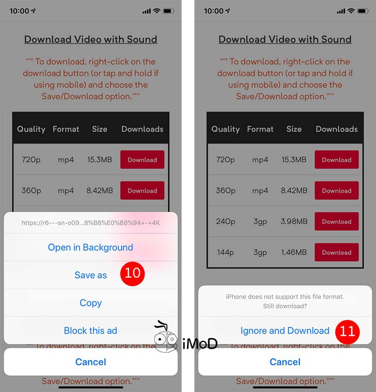 How To Download Youtube Vidio Iphone By Uc Browser 4