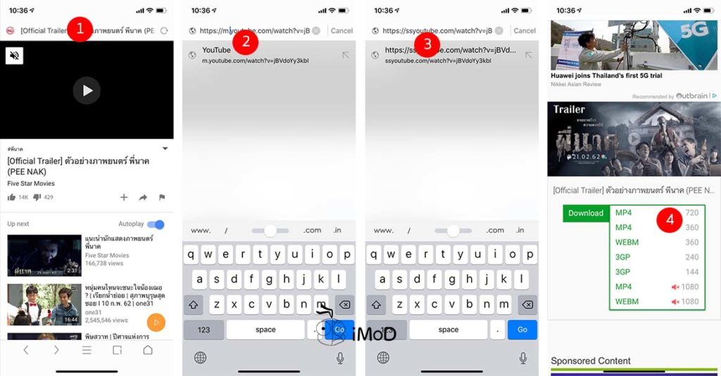 How To Download Youtube Vidio Iphone By Uc Browser 7