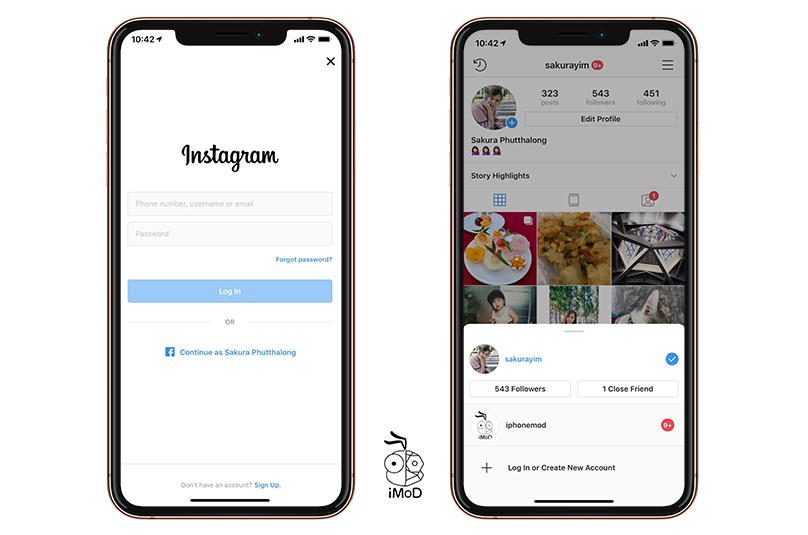 Instagram Testing Main Account Feature 1