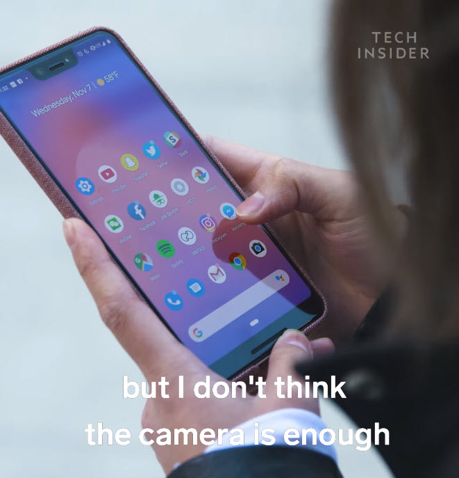 Iphone User Switch To Pixel 3 Xl Once Week Img 3