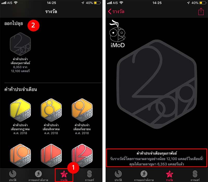 Monthly Challenge Activity Award Apple Watch 1