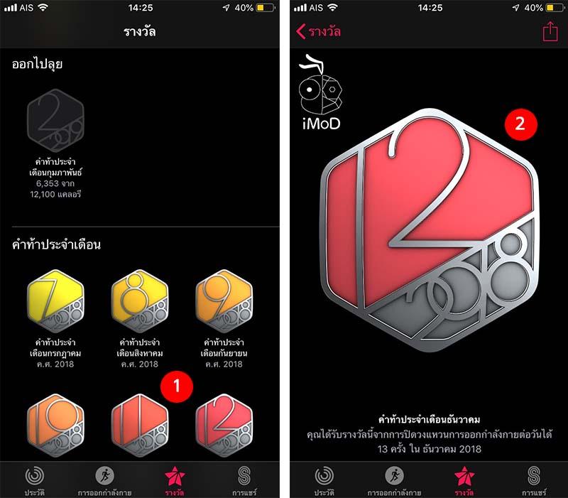 Monthly Challenge Activity Award Apple Watch 2