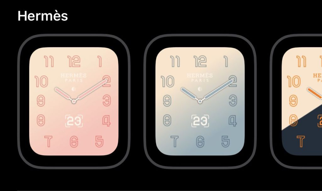 New Apple Watch Face Hermes Will Come With Watchos 5.2 3
