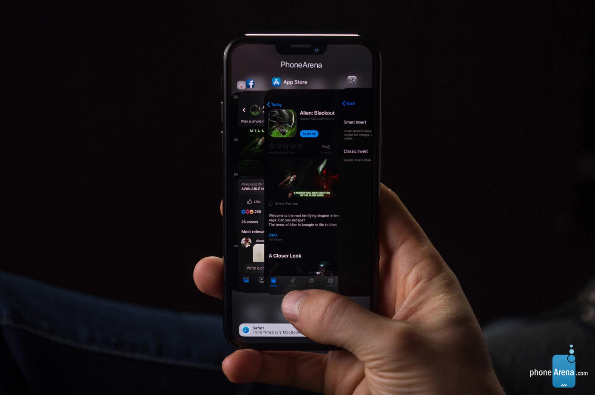 Phonearena Iphone Xi Ios 13 Darkmode Render Img 1 6