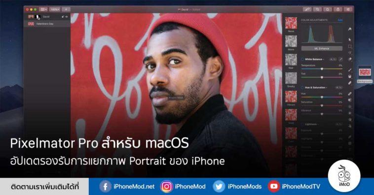 Pixelmator Pro For Mac Update 1 3 1 Support Portrait Iphone
