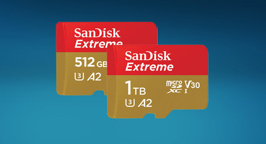 Wd Unveils 1tb Sandisk Extreme Microsd Card Img 1
