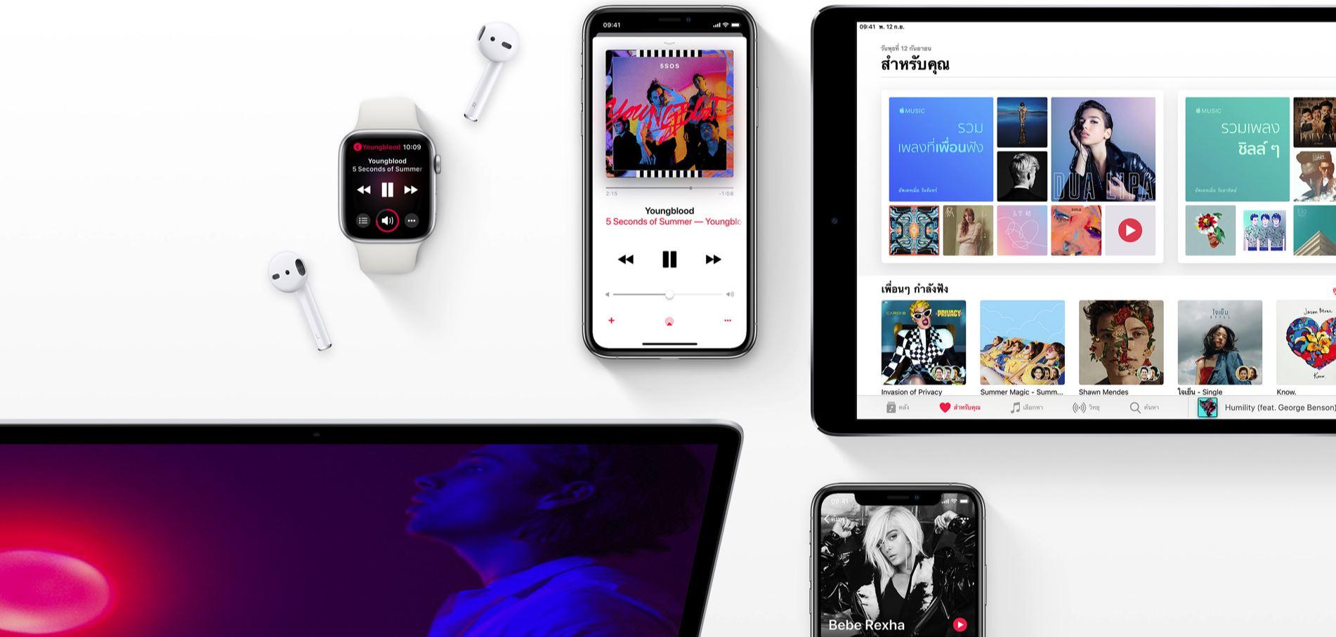 ทำไมถึงต้องเลือกใช้ Apple Music