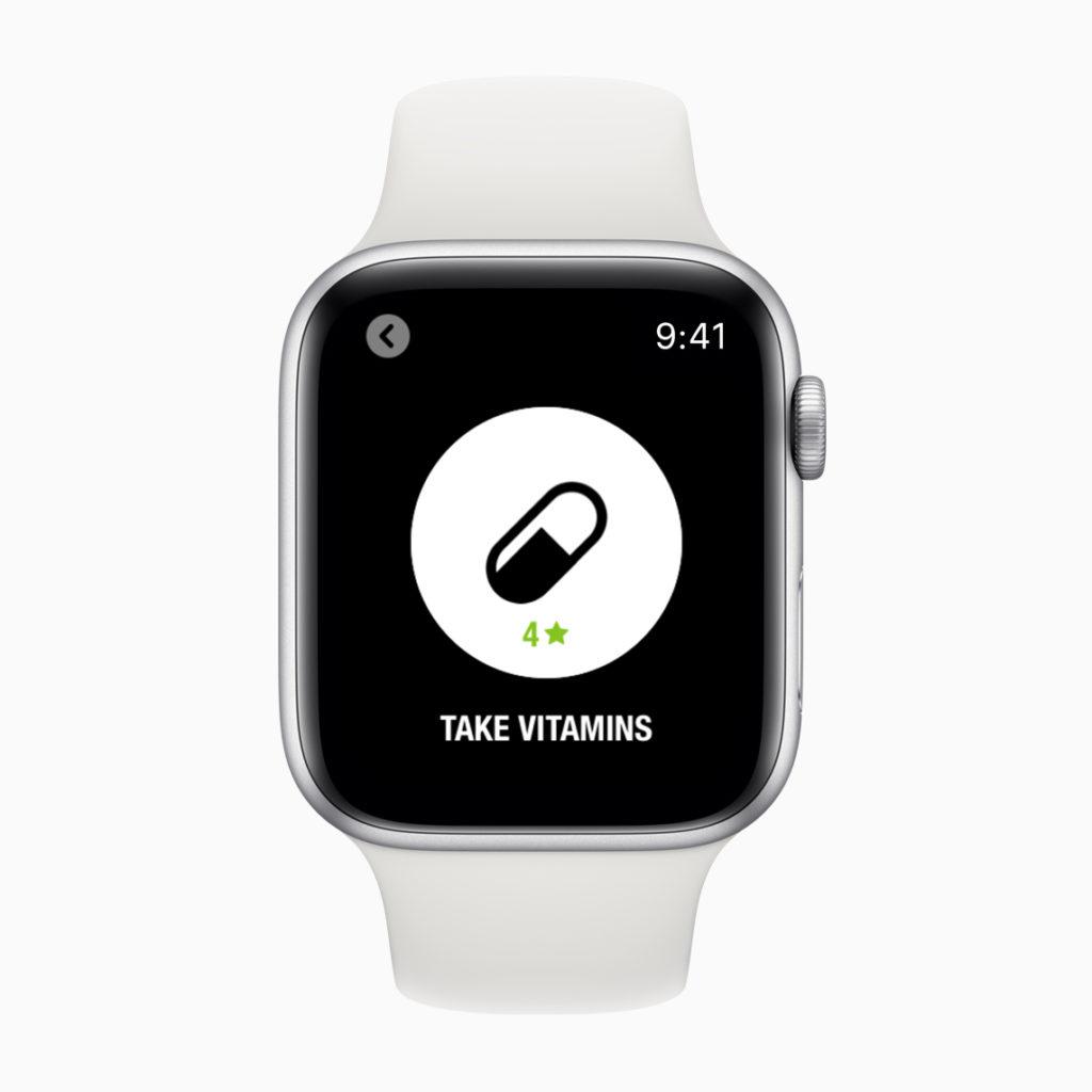 Apple Siri Shortcuts Health And Fitness Take Vitamins Screen Apple Watch 02282019