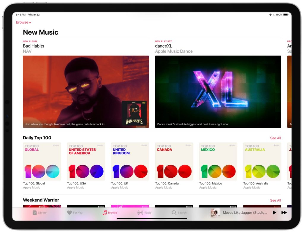 Apple Music Browse Tab Update New 3 2019 2