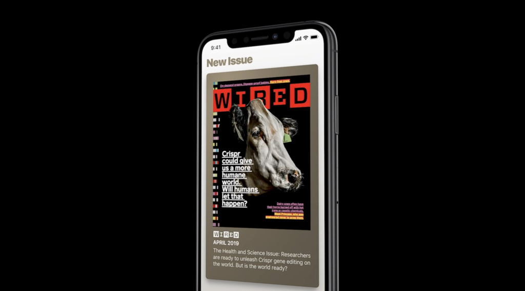 Apple Release Apple News Plus Add Magazine 1