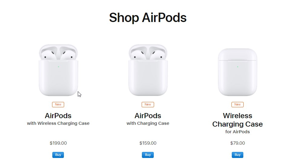 Apple Sale Wireless Charging Case For Airpods 2