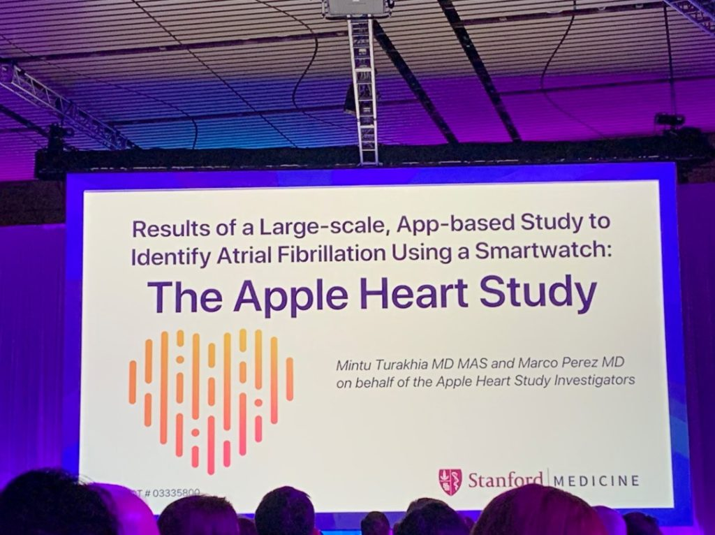 Apple Standford Apple Watch Heart Study Results 1